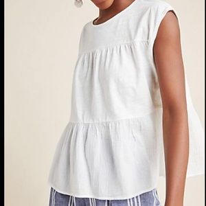 Anthropologie Babydoll Top
